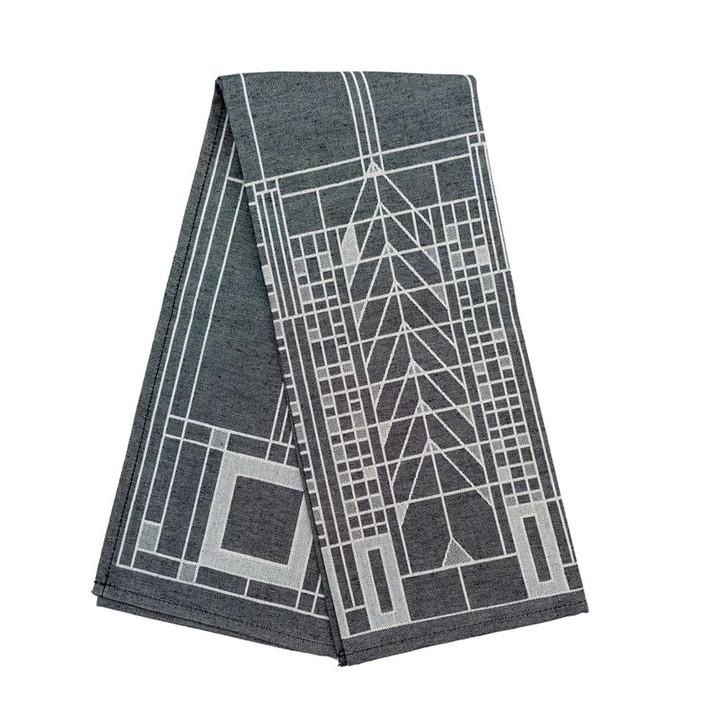Frank Lloyd Wright Tree of Life Tea Towel