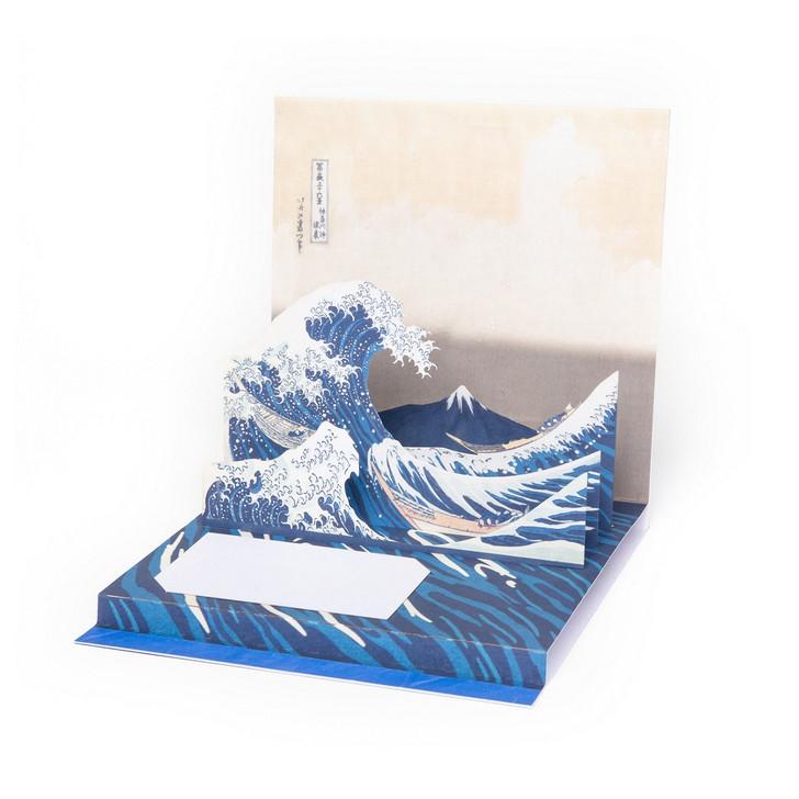 Great Wave, Hokusai Pop-Up Card