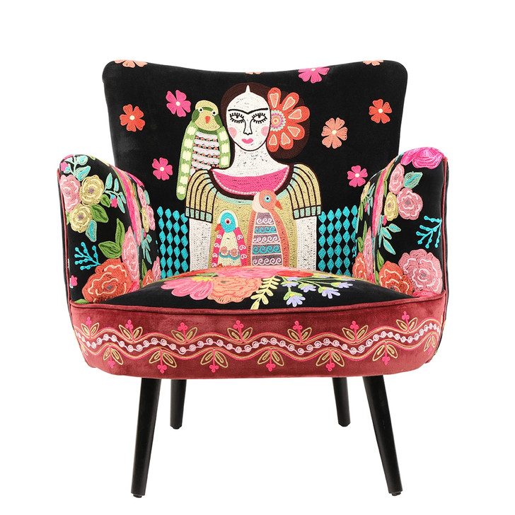 Hand Embellished Frida Chair