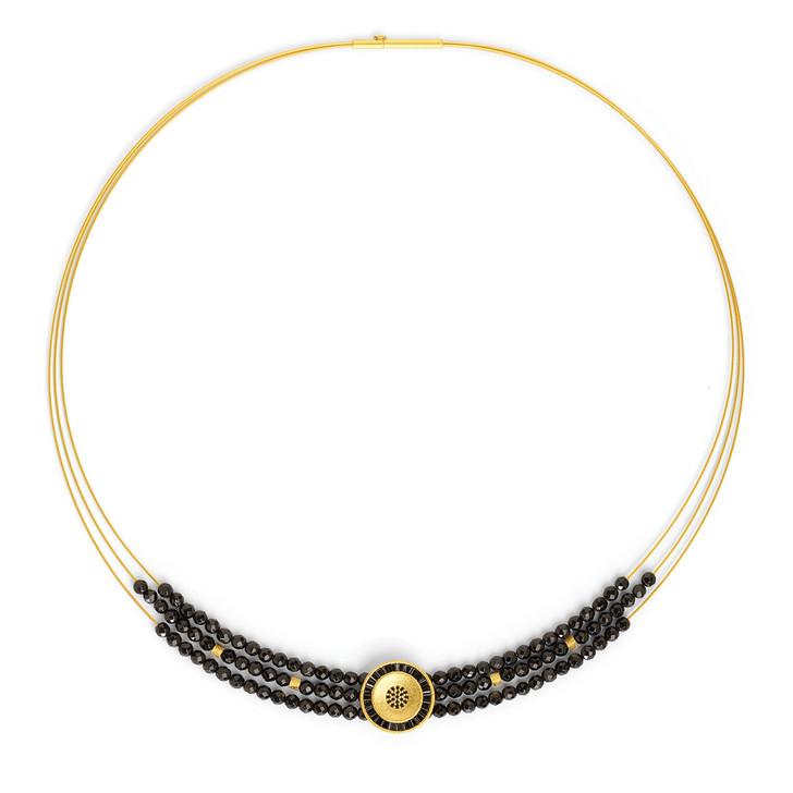 Solapas Spinel Pave Necklace