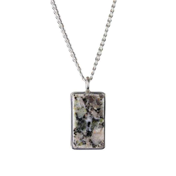 DIA Granite Pendant Necklace