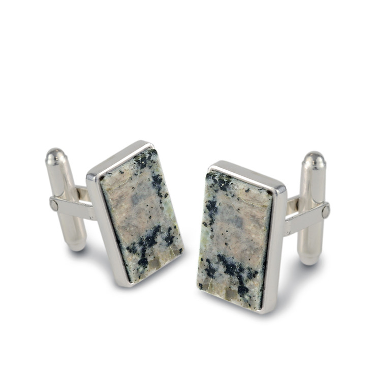DIA Granite Cuff Links