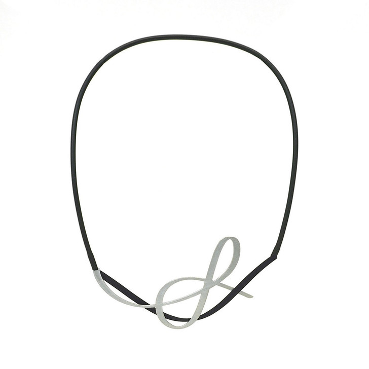 Tangle Black/Raw Necklace