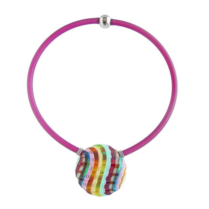 Rainbow Glass Venezia 2 Necklace
