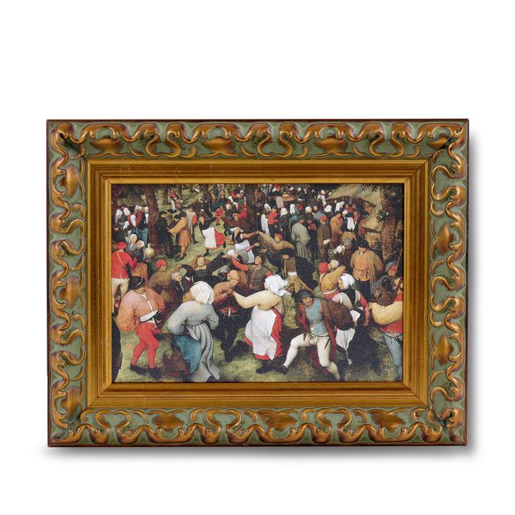 The Wedding Dance, Bruegel Mini Framed Print