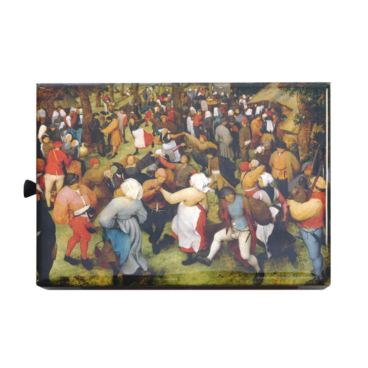 The Wedding Dance, Bruegel Wooden Matchbox