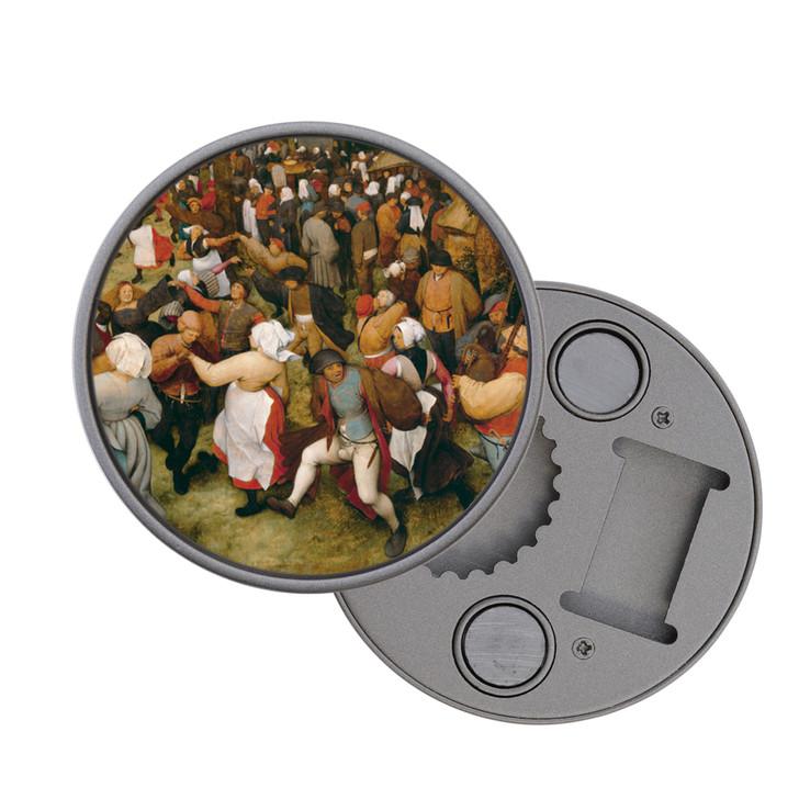 The Wedding Dance, Bruegel Magnet Bottle Opener