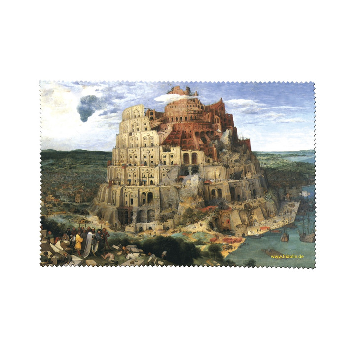 The Tower of Babel, Bruegel Cleaning Cloth