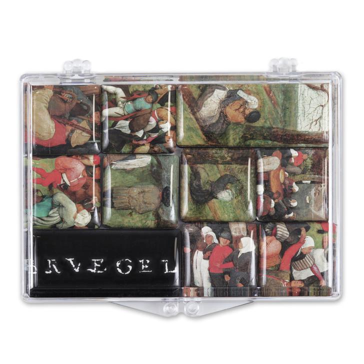 The Wedding Dance, Bruegel 10 Mini Magnet Set