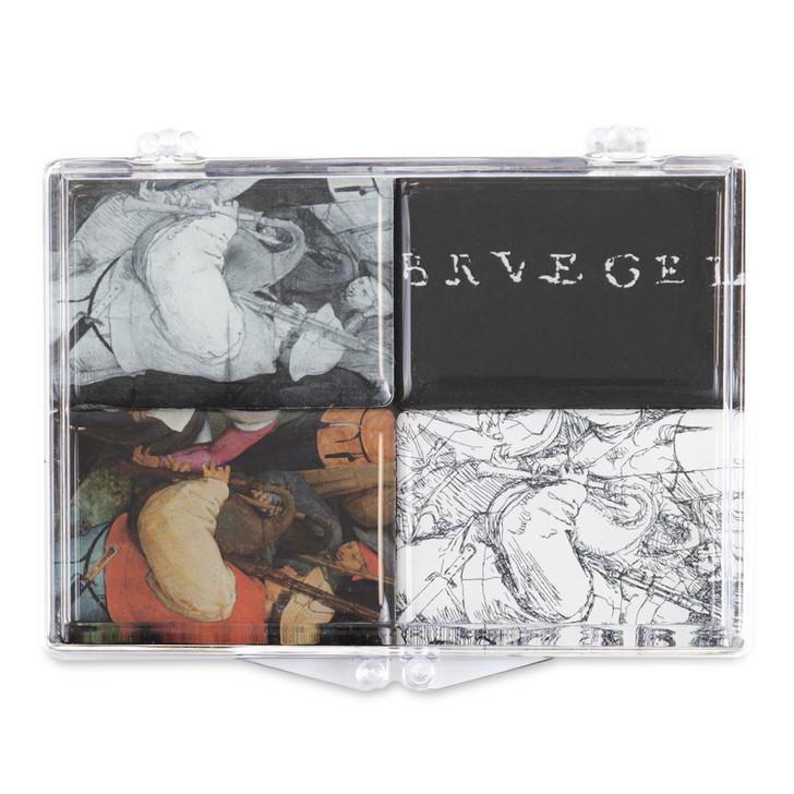 Bagpiper Underdrawing, Bruegel Magnet Set