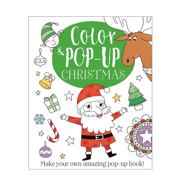 Color & Pop-Up Christmas