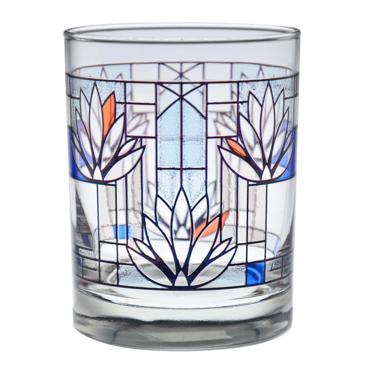 Frank Lloyd Wright Water Lilies Glass
