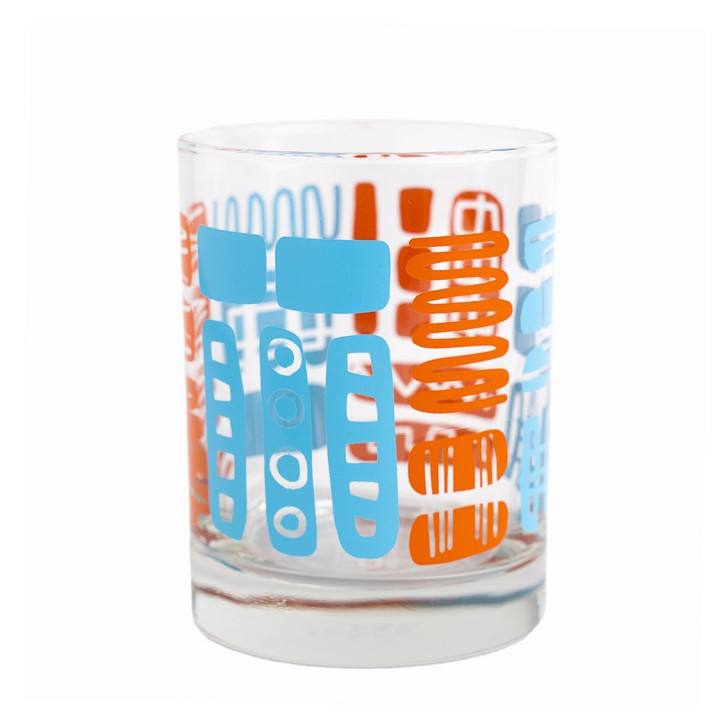 Mambo Old Fashioned, Orange/Blue