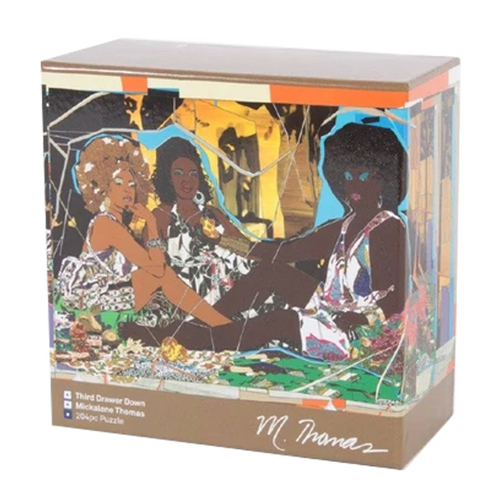 Le Dejeuner, Mickalene Thomas Collector's Edition Puzzle