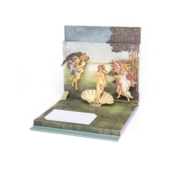 Birth of Venus, Botticelli Pop-Up Card