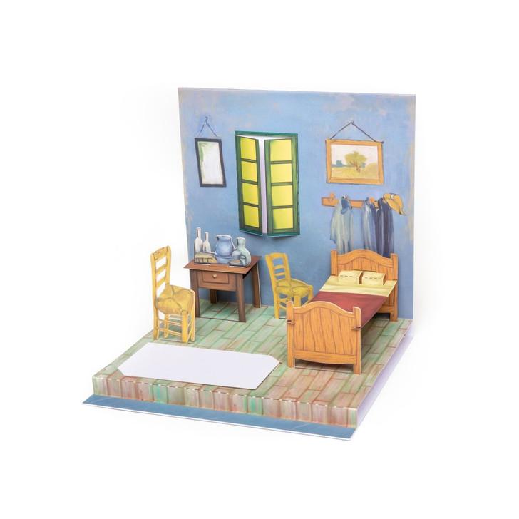 Bedroom in Arles, Van Gogh Pop-Up Card