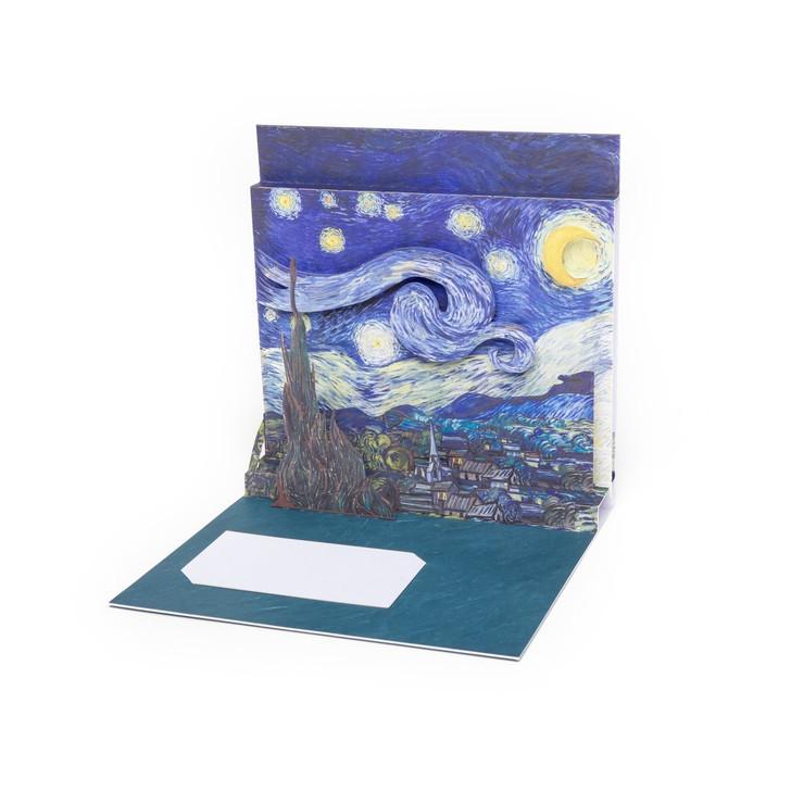 Starry Night, Van Gogh Pop-Up Card