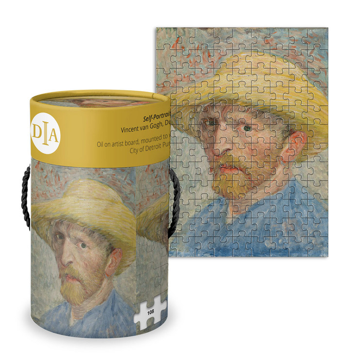 Self-Portrait, Van Gogh Wood Puzzle