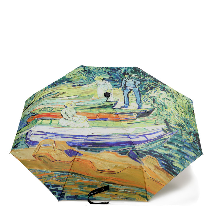 Bank of the Oise at Auvers, Van Gogh Umbrella