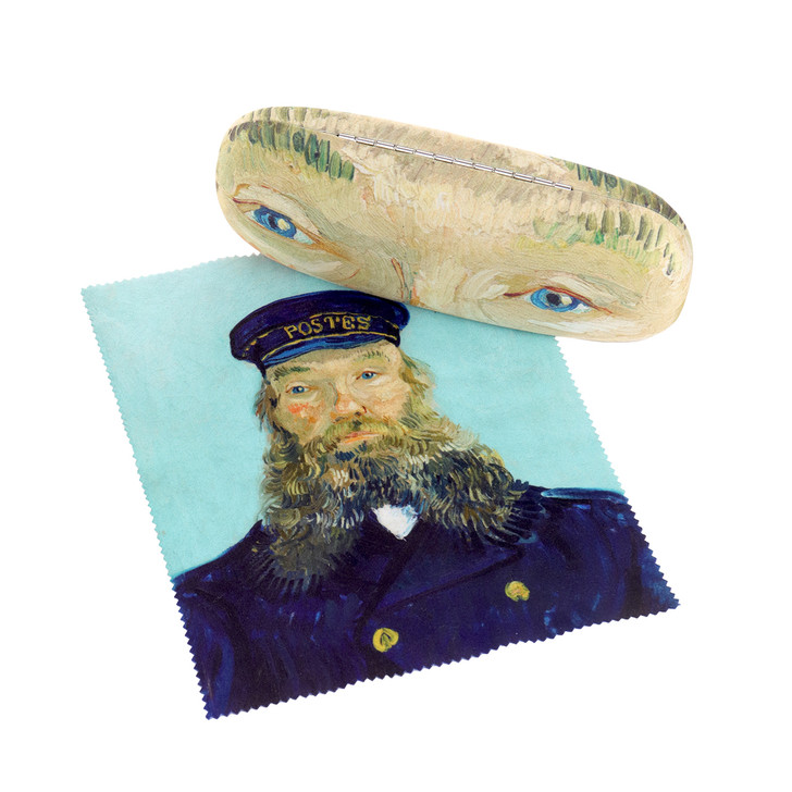 Portrait of Postman Roulin, Van Gogh Eyeglass Case