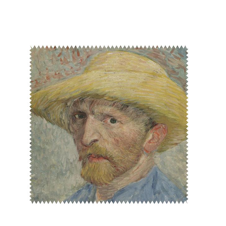 Self-Portrait, Van Gogh Square Lens Cloth