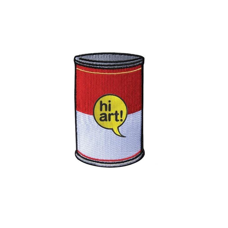 Soup Can Hi Art Patch