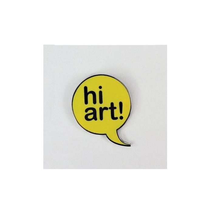 Hi Art Enamel Pin