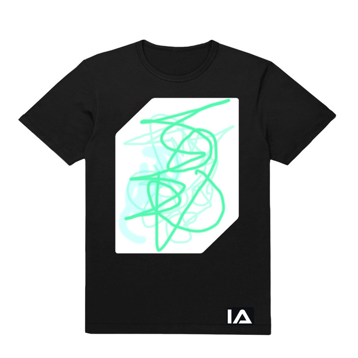 Glow Art T-Shirt, Youth