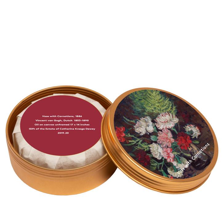 Vase with Carnations, Van Gogh Aloe Soap