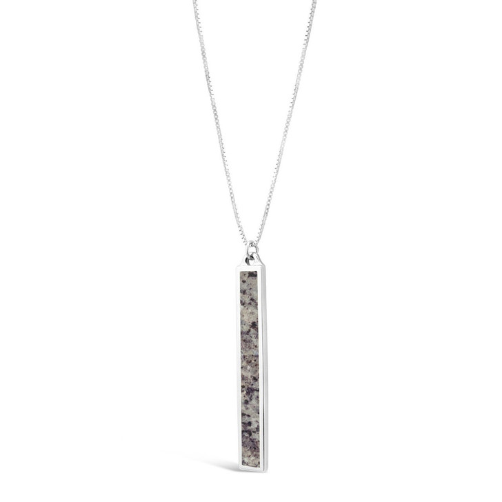 DIA Granite Bar Necklace