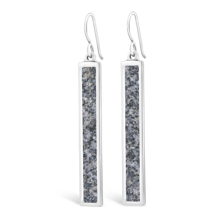DIA Granite Bar Earrings