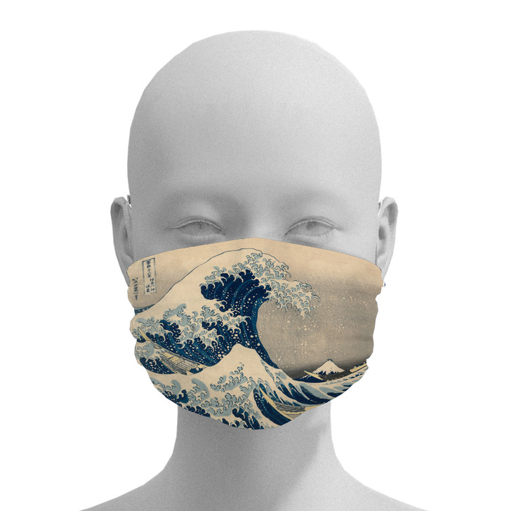 The Great Wave, Hokusai Face Mask