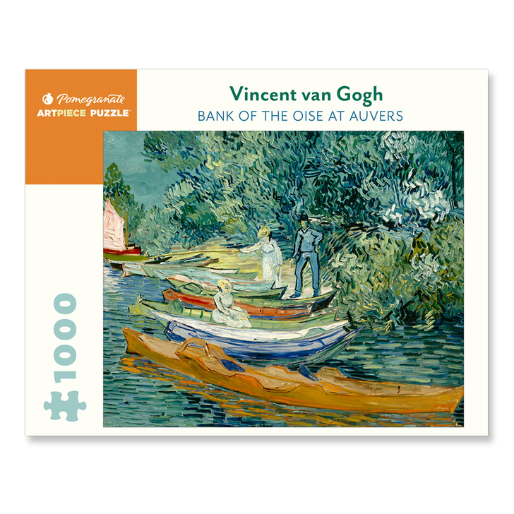 Bank of the Oise at Auvers, Van Gogh Puzzle