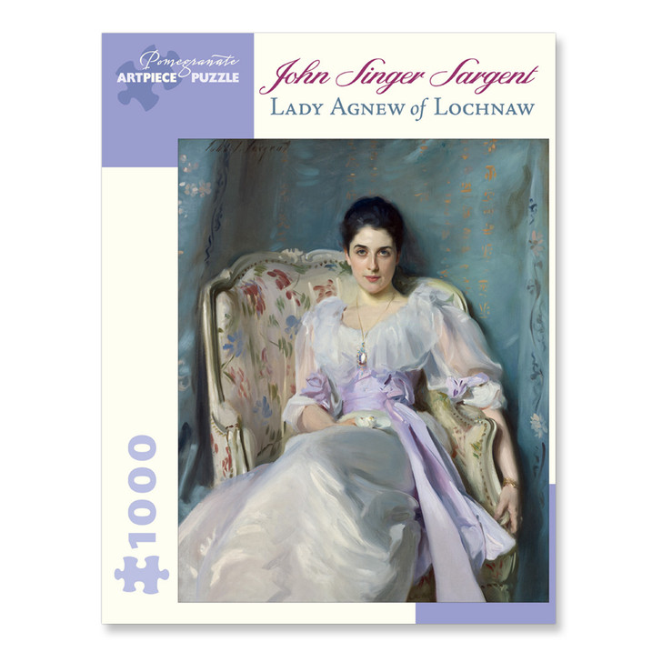 Lady Agnew Of Lochnaw, Sargent Puzzle