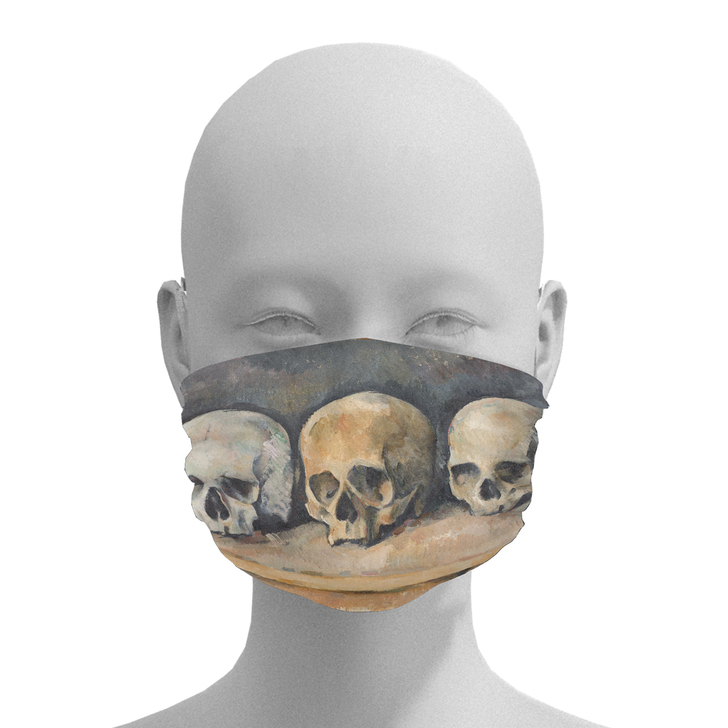 The Three Skulls, Cezanne Face Mask