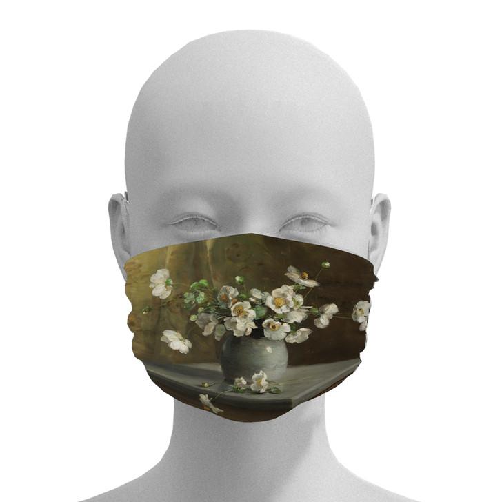 Floral Still Life, Porter Face Mask