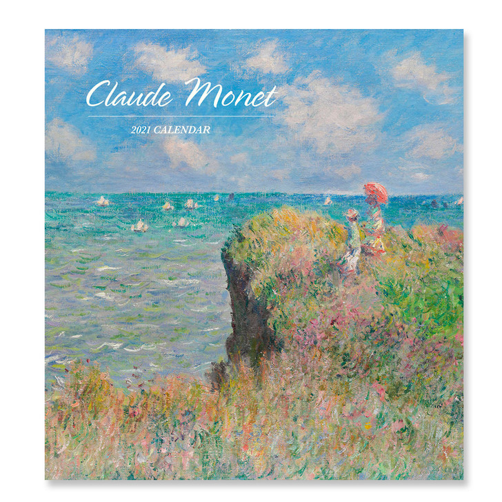 Claude Monet Mini Wall Calendar 2021