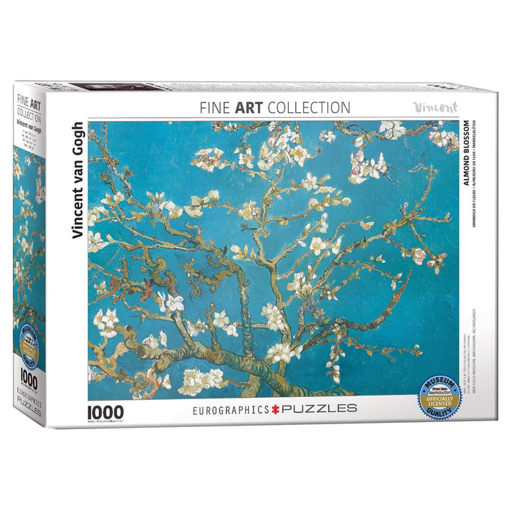 Almond Blossoms, Van Gogh Puzzle