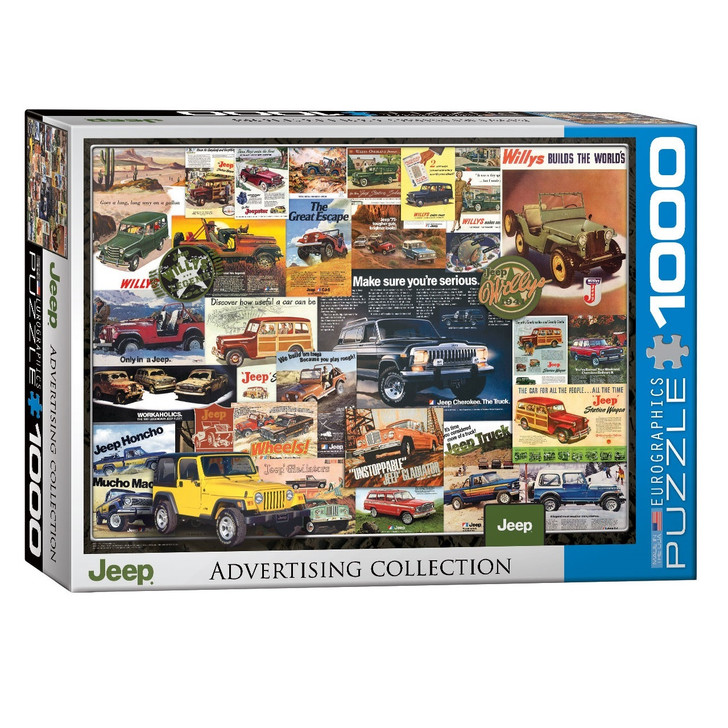 Jeep Advertising Collection Puzzle