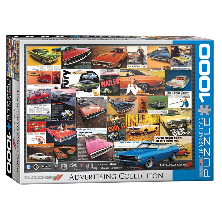 Dodge Advertising Collection Puzzle