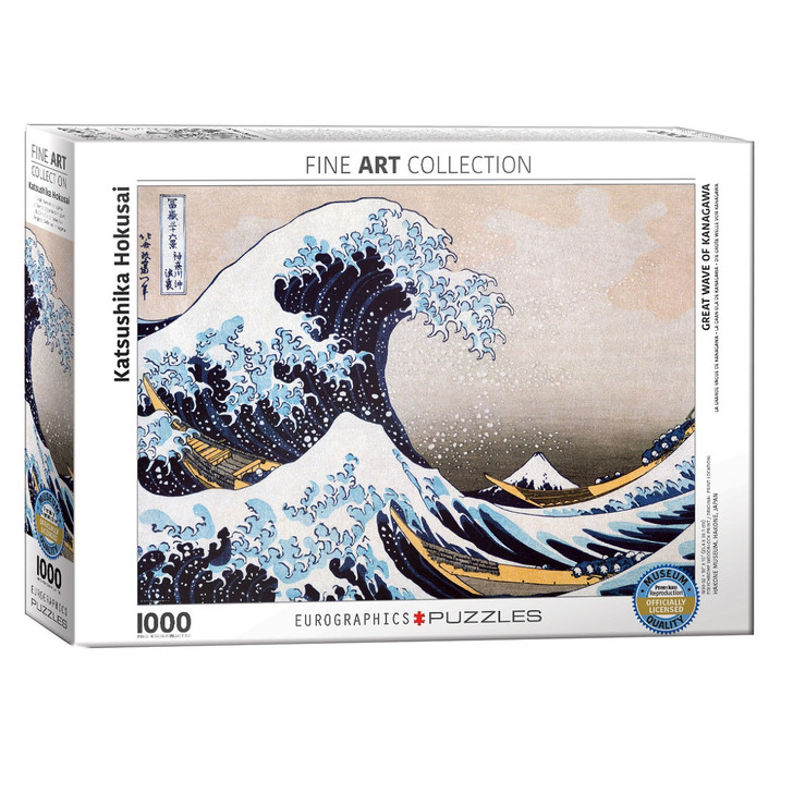 Great Wave, Hokusai Puzzle