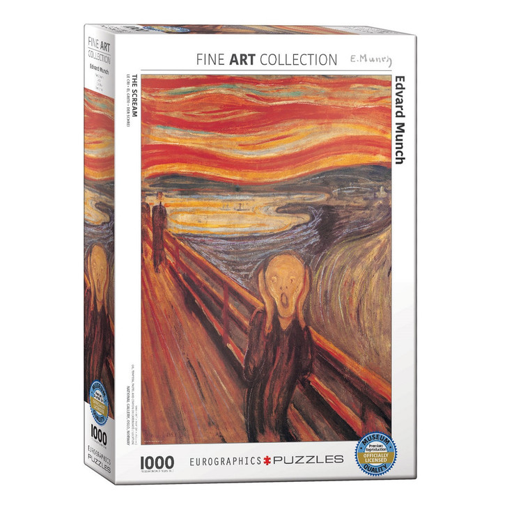 The Scream, Munch Puzzle