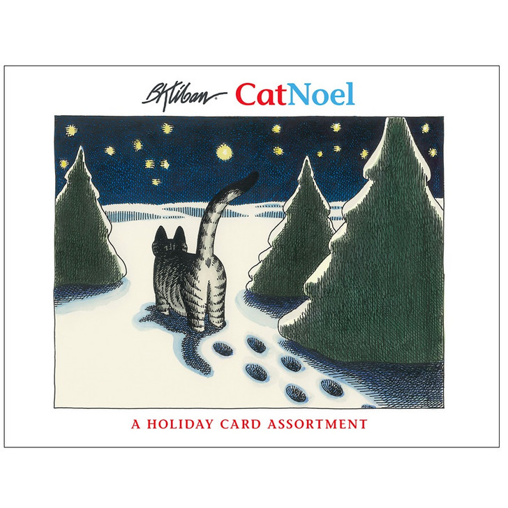 CatNoel Boxed Holiday Cards