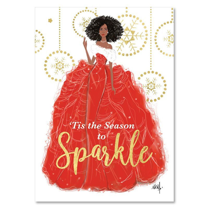 Sparkle Boxed Christmas Cards