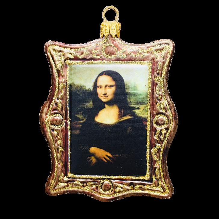 Framed Mona Lisa Ornament