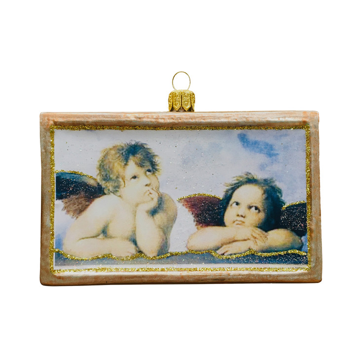 Framed Angels Ornament