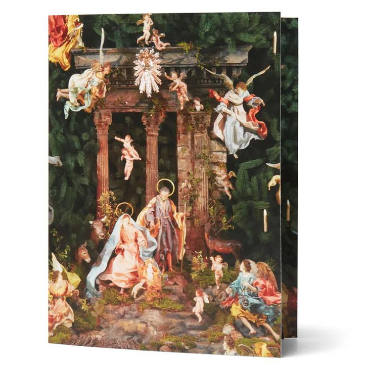 Nativity Scene Pop-Up Card