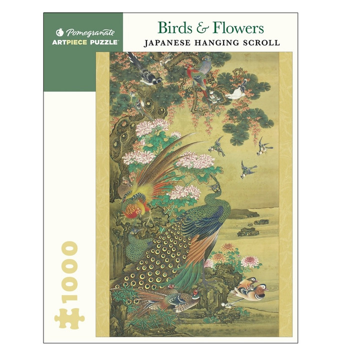Birds & Flowers Japanese Scroll Puzzle