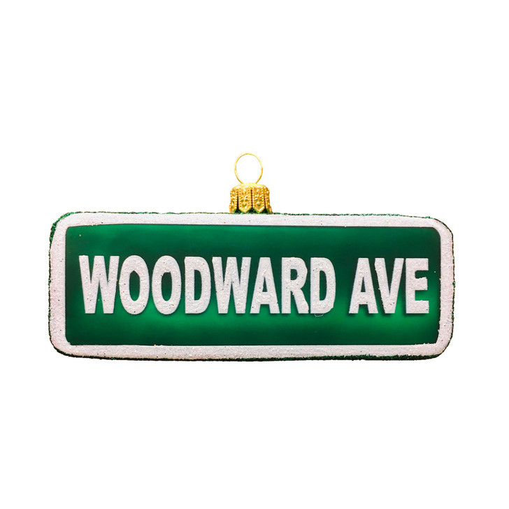 Woodward Ave Ornament