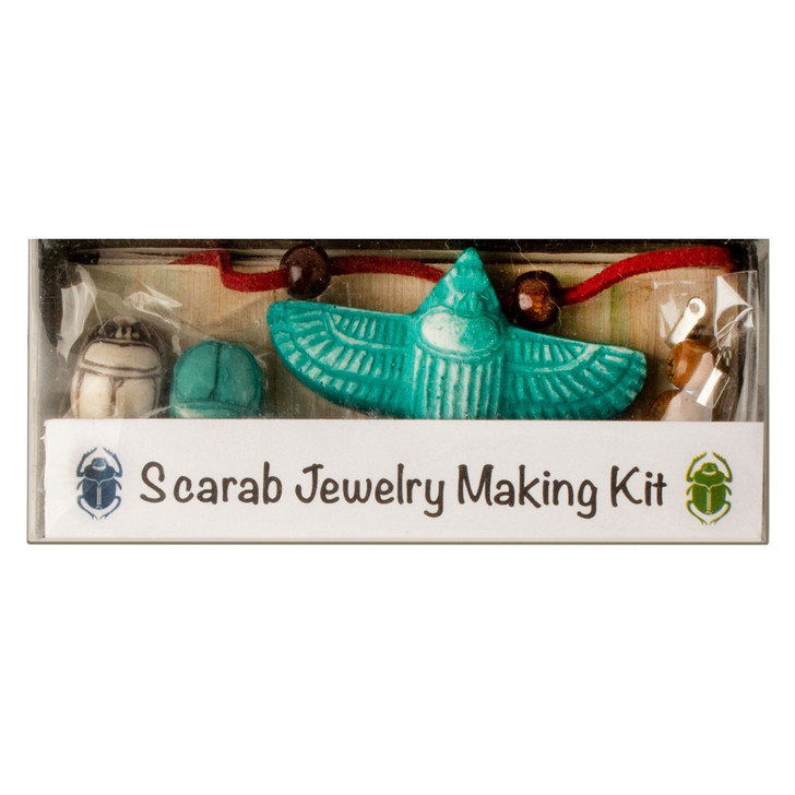 Scarab Bead Jewelry Making Kit